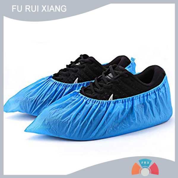 Spunbond nonwoven fabric for shoe covers